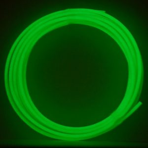 pla filament glow in the dark groen 5 meter