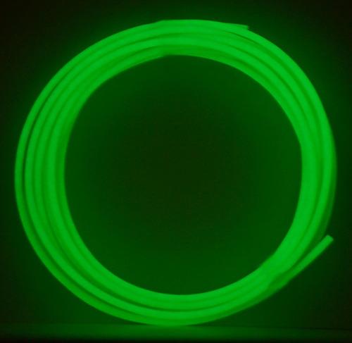 pla filament glow in the dark groen 5 meter